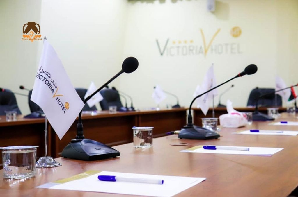 Business meeting at Victoria Hotel